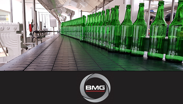 BMG's dry running conveyor components for the food and beverage