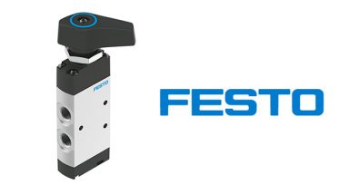 Festo adds manual and mechanical pneumatic valves